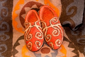 Slippers by Tumar Art Group